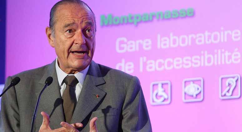 Jacques Chirac ou l'âme de la politique sur le handicap