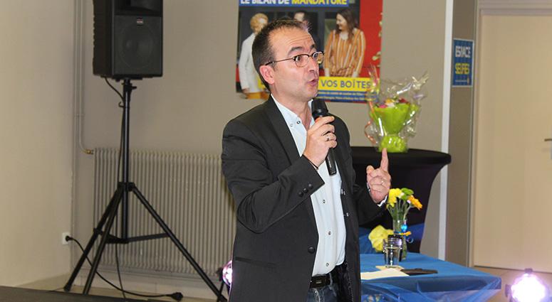 Laurent Depagne candidat pour préparer l'avenir sur Aulnoy-lez-Valenciennes
