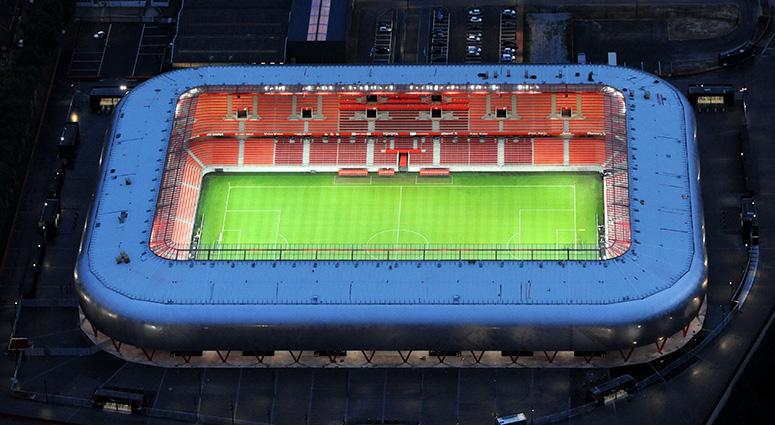 Le Stade du Hainaut au coeur de l'histoire de Valenciennes Métropole