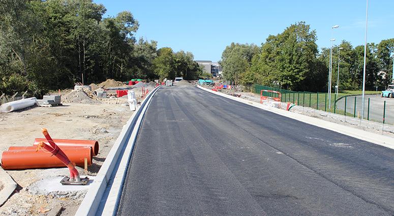 Point d'étape sur les travaux du nouveau boulevard urbain sur Marly