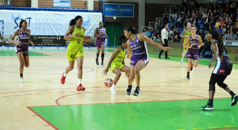 (Basket) Les Hennuyères, battues par Landerneau (47-58), ratent leur première à domicile