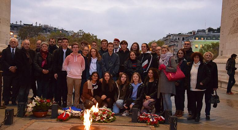Des lycéens au coeur de notre mémoire collective