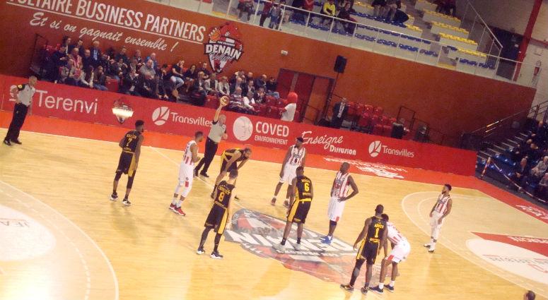 (Basket) Denain, en confiance, coule Fos/Mer (87-70)