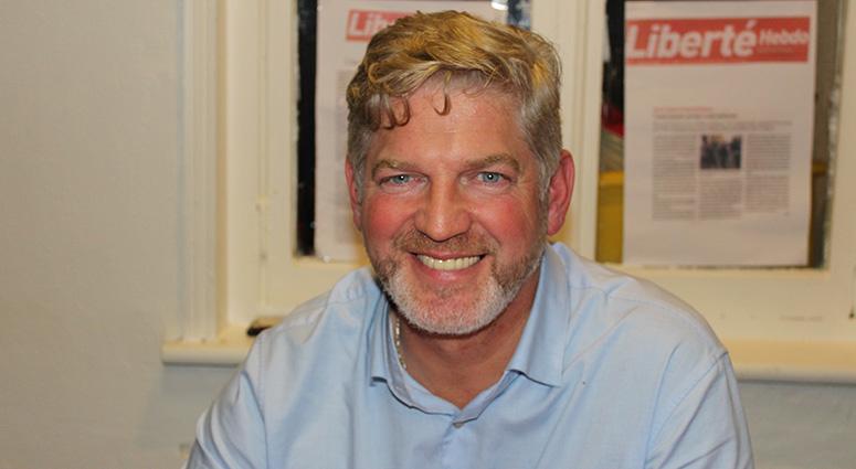 David Audin, chef de file du Parti Communiste à Denain