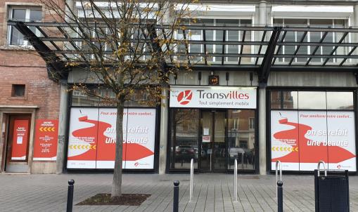 (Transvilles) Lancement des travaux de l'agence commerciale Place du Hainaut