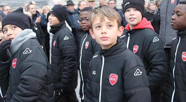 La mémoire des Poilus honorée par le sport et la jeunesse à Valenciennes