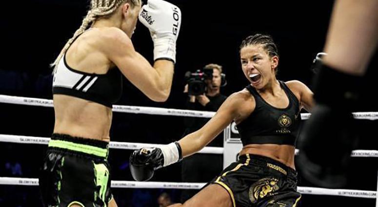 Sarah Moussadak, une championne de Kick-Boxing sur le Valenciennois