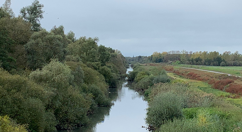 Le curage du Canal Condé-Pommeroeul vu de la Belgique… !