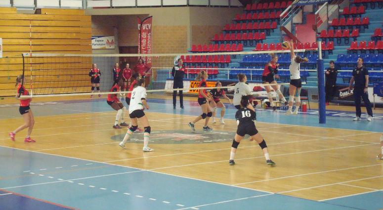 (Volley) Valenciennes consolide sa première place de la poule E en Nationale 3
