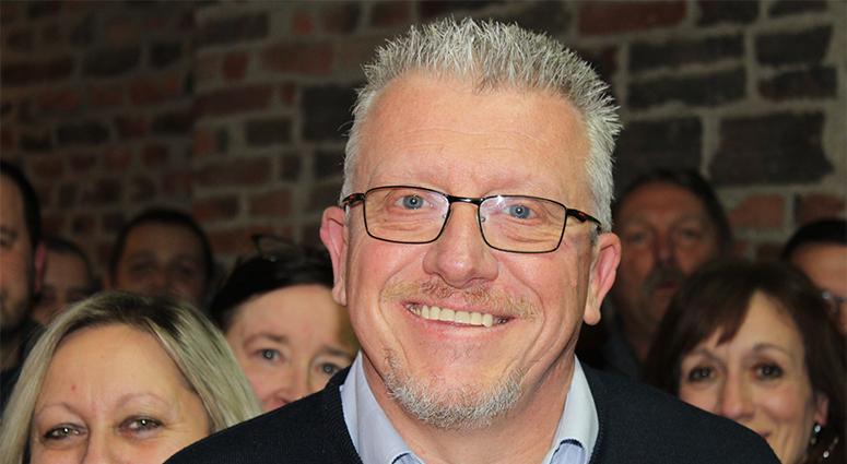 Joël Bois, candidat à Condé-sur-l'Escaut