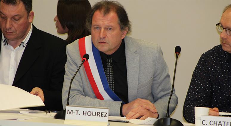 Jerome Leman, maire de Marly et tête de liste aux municipales