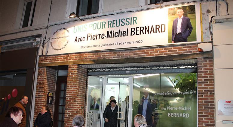 (Anzin) Pierre-Michel Bernard lance sa campagne municipale