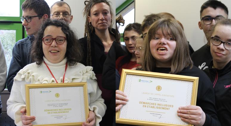 L'APEI du Valenciennois remporte deux prix