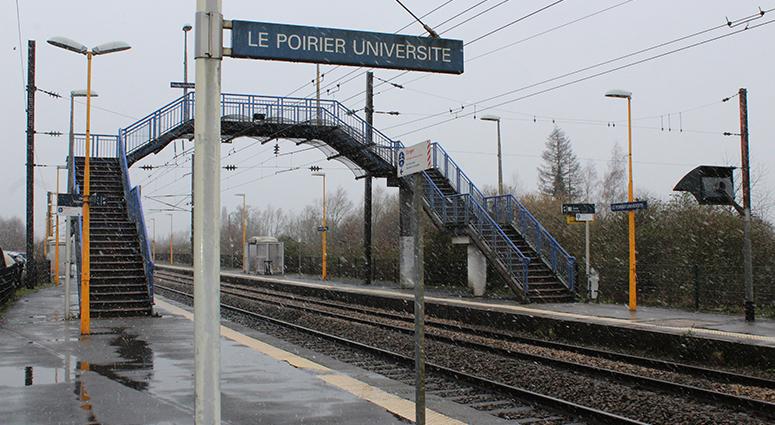 Jean-Claude Dulieu «Le Poirier est une Gare (SNCF) d'avenir! »