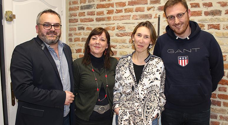 Betty Rygielski (Nous Toutes 59) et Sebastien Verschueren rejoignent Didier Legrand à Valenciennes