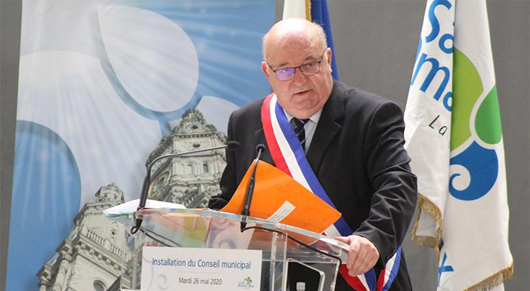 Alain Bocquet réélu à Saint-Amand-les-Eaux