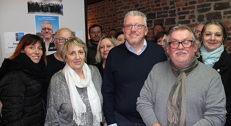 Joël Bois soutenu par 3 listes d'opposition à Condé-sur-l'Escaut