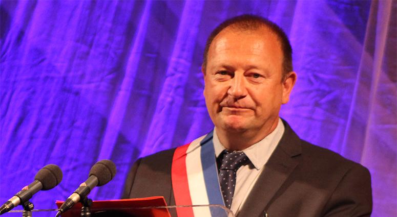 Dominique Savary, nouveau maire de Trith-st-Léger