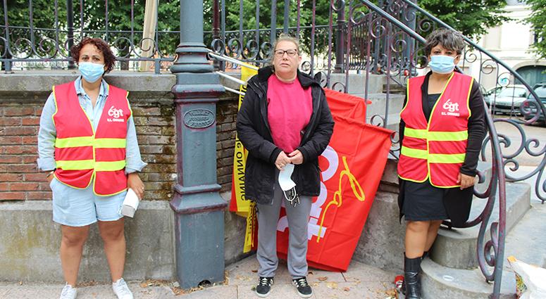 Syndicat CGT : «On reviendra le samedi 27 juin devant l'hôtel de ville (de Condé)»