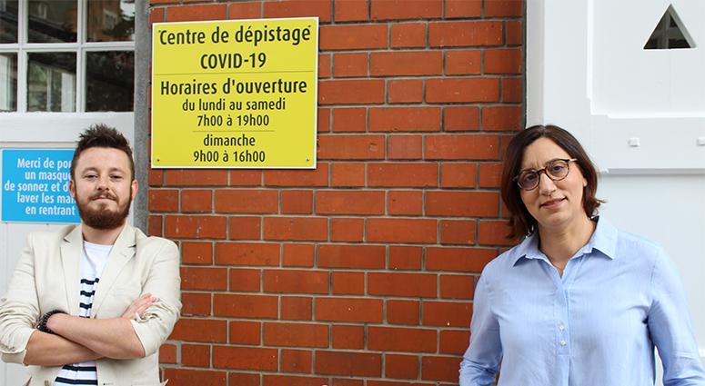 Des infirmiers libéraux créent un nouveau centre de dépistage du Covid-19