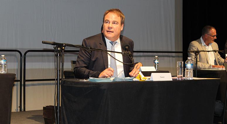 Laurent Degallaix réélu très confortablement à la Présidence de Valenciennes Métropole