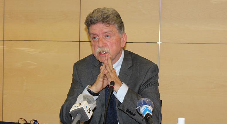 Michel Lalande : «Nous parlons d'une pollution dramatique pour l'Escaut»