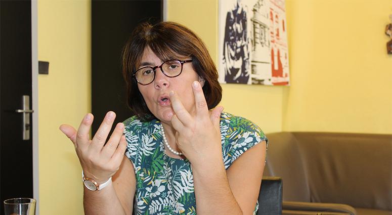 (Denain) Anne-Lise Dufour «j'ai 2,3 choses à vous dire! »