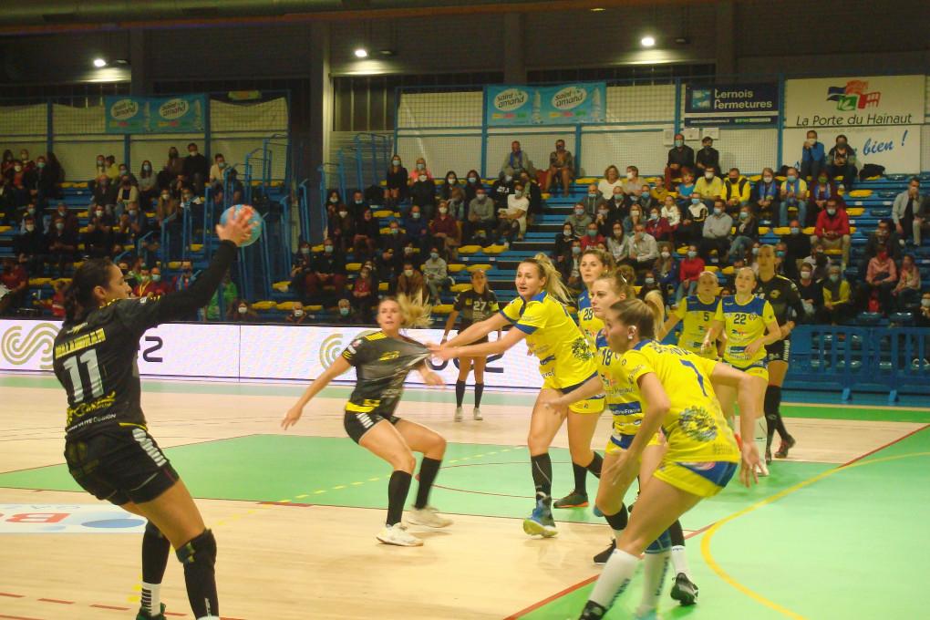 Match avancé à 18h00 le mercredi 28 octobre Saint-Amand Handball/Dijon