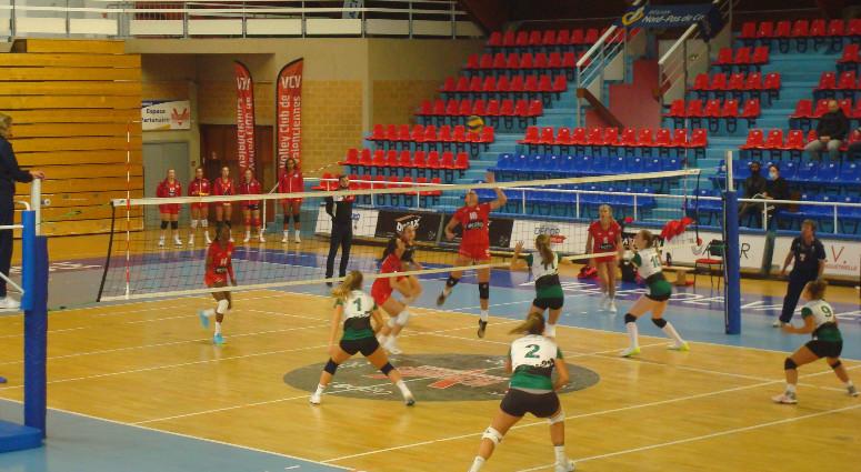 (Volley) Une victoire expéditive pour les Valenciennoises face au Touquet (3-0)